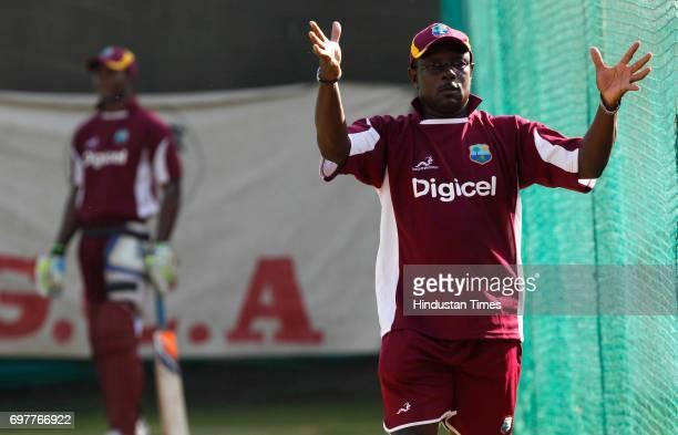 Richie Richardson of West Indies team at 3rd One day match of Airtel ODI series held at Sardar Patel Gujarat Stadium on Sunday in Ahmedabad