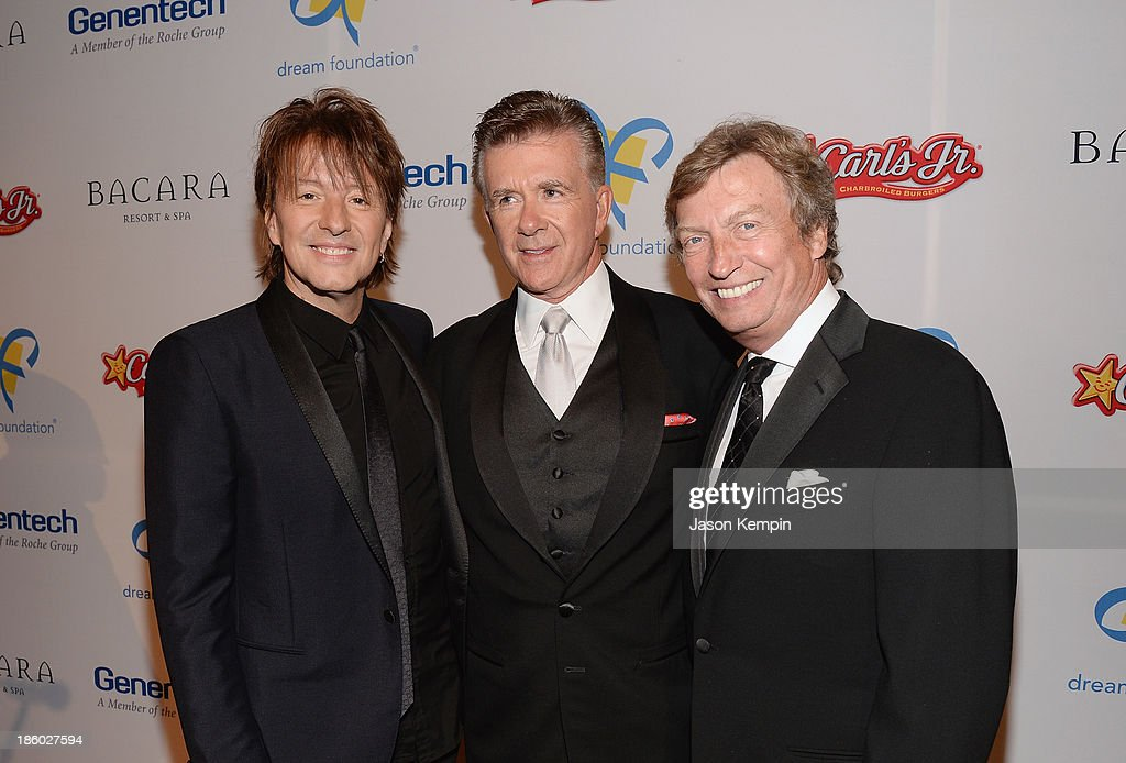 <a gi-track='captionPersonalityLinkClicked' href=/galleries/search?phrase=Richie+Sambora&family=editorial&specificpeople=204195 ng-click='$event.stopPropagation()'>Richie Sambora</a>, <a gi-track='captionPersonalityLinkClicked' href=/galleries/search?phrase=Alan+Thicke&family=editorial&specificpeople=240157 ng-click='$event.stopPropagation()'>Alan Thicke</a> and <a gi-track='captionPersonalityLinkClicked' href=/galleries/search?phrase=Nigel+Lythgoe&family=editorial&specificpeople=736462 ng-click='$event.stopPropagation()'>Nigel Lythgoe</a> attend the 12th Annual Celebration Of Dreams Gala at Bacara Resort And Spa on October 26, 2013 in Santa Barbara, California.