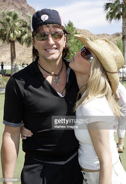 Richie Sambora and Heather Lockear during The 7th Annual Michael Douglas Friends Celebrity Golf Tournament Presented by Lexus at Cascata Golf Course...