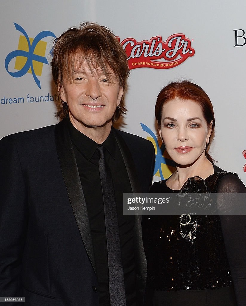 <a gi-track='captionPersonalityLinkClicked' href=/galleries/search?phrase=Richie+Sambora&family=editorial&specificpeople=204195 ng-click='$event.stopPropagation()'>Richie Sambora</a> and <a gi-track='captionPersonalityLinkClicked' href=/galleries/search?phrase=Priscilla+Presley&family=editorial&specificpeople=93969 ng-click='$event.stopPropagation()'>Priscilla Presley</a> attend the 12th Annual Celebration Of Dreams Gala at Bacara Resort And Spa on October 26, 2013 in Santa Barbara, California.