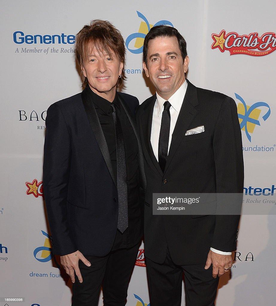 Richie Sambora and Thomas Rollerson attend the 12th Annual Celebration Of Dreams Gala at Bacara Resort And Spa on October 26, 2013 in Santa Barbara, California.