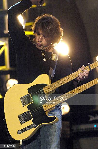 Richie Sambora during 32nd Annual American Music Awards Day Two Rehearsals at Shrine Auditorium in Los Angeles California United States