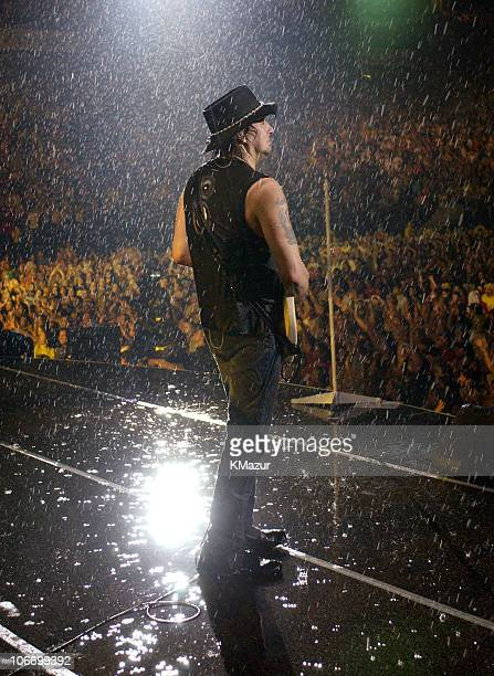 Richie Sambora during Bon Jovi's 'Bounce Tour' Live at Giants Stadium on August 7 2003 Show at Giants Stadium in East Rutherford New Jersey United...