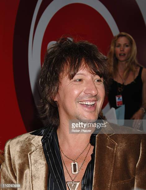 Richie Sambora during Conde Nast Media Group Kicks off New York Fall Fashion Week with 3rd Annual Fashion Rocks Concert Arrivals at Radio City Music...