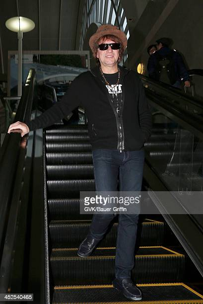 Richie Sambora is seen arriving at LAX airport on November 29 2013 in Los Angeles California