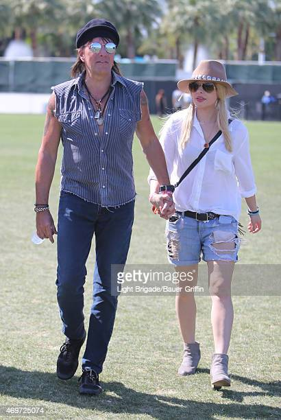Richie Sambora is seen at Coachella Valley Music and Arts Festival at The Empire Polo Club on April 12 2015 in Indio California