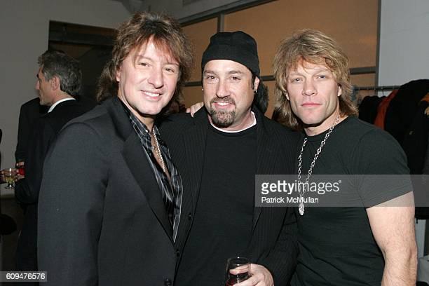 Richie Sambora John Shanks and Jon Bon Jovi attend Jon Bon Jovi and Kenneth Cole Team Up For An Unforgettable Night of Fundraising At 'RSVP To Help'...
