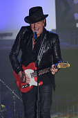 Richie Sambora performs during the Songwriters Hall Of Fame 46th Annual Induction And Awards at Marriott Marquis Hotel on June 18 2015 in New York...