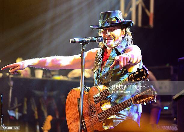 Richie Sambora performs on stage at O2 Islington Academy on June 13 2014 in London England