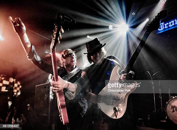 Richie Sambora performs with A Thousand Horses at The Troubadour on October 1 2015 in West Hollywood California