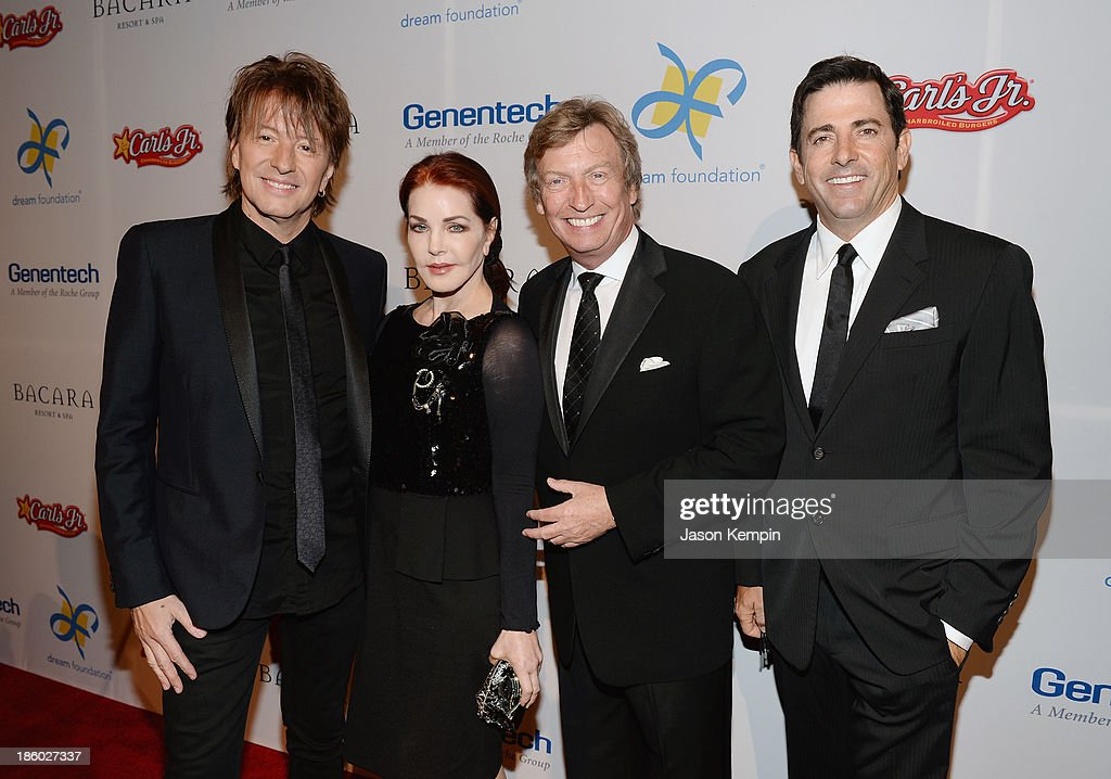 <a gi-track='captionPersonalityLinkClicked' href=/galleries/search?phrase=Richie+Sambora&family=editorial&specificpeople=204195 ng-click='$event.stopPropagation()'>Richie Sambora</a>, <a gi-track='captionPersonalityLinkClicked' href=/galleries/search?phrase=Priscilla+Presley&family=editorial&specificpeople=93969 ng-click='$event.stopPropagation()'>Priscilla Presley</a>, <a gi-track='captionPersonalityLinkClicked' href=/galleries/search?phrase=Nigel+Lythgoe&family=editorial&specificpeople=736462 ng-click='$event.stopPropagation()'>Nigel Lythgoe</a> and Thomas Rollerson attend the 12th Annual Celebration Of Dreams Gala at Bacara Resort And Spa on October 26, 2013 in Santa Barbara, California.