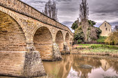 The Richmond Bridge in Tasmania is Australia's oldest bridge. It was built by convicts in 1825.