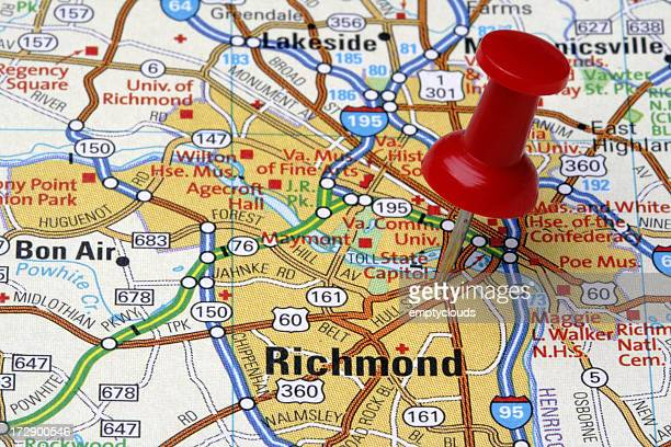 Richmond on a Map