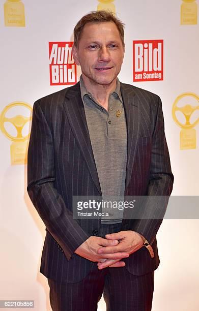 Richy Mueller attends the 'Goldenes Lenkrad' Award at Axel Springer Haus on November 8 2016 in Berlin Germany
