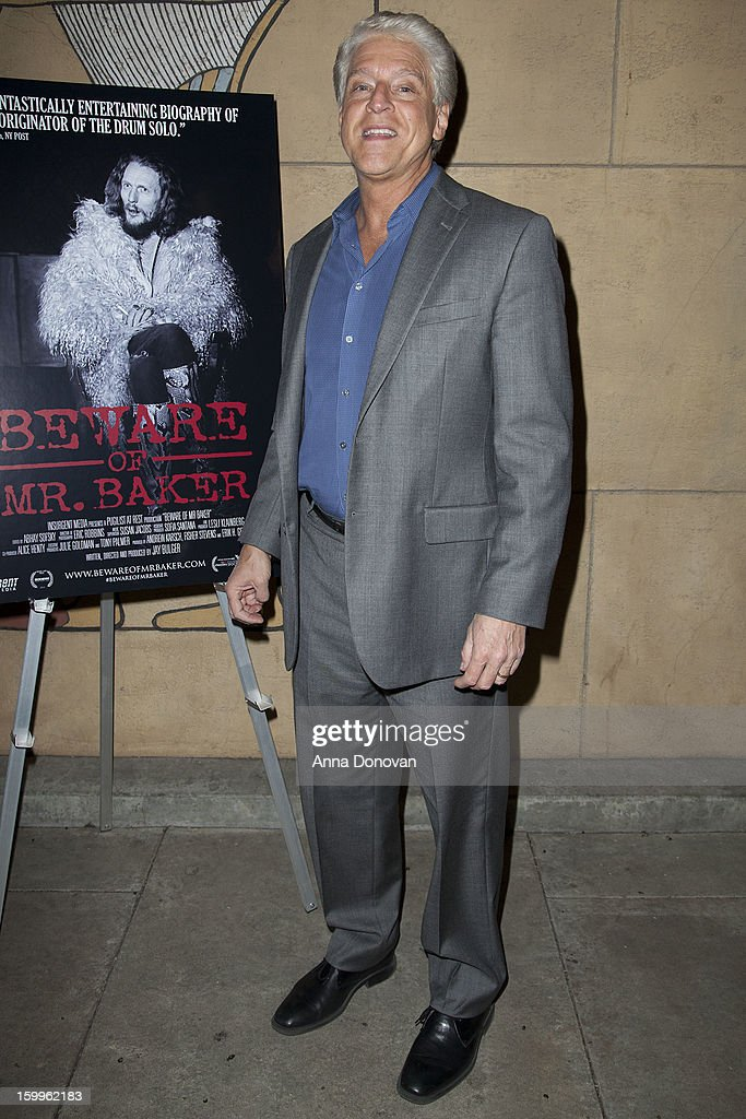 Rick Allen attend a special screening of 'Beware Of Mr Baker' at the Egyptian Theatre on January 23 2013 in Hollywood California
