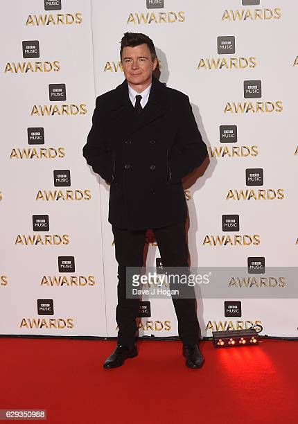Rick Astley attends the BBC Music Awards at ExCel on December 12 2016 in London England