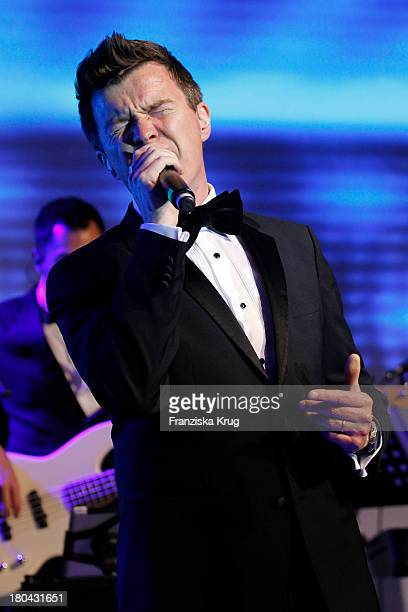Rick Astley attends the Dreamball 2013 charity gala at Ritz Carlton on September 12 2013 in Berlin Germany