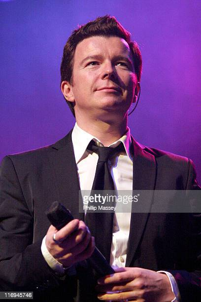 Rick Astley during Rick Astley in Concert at the Olympia Theatre in Dublin November 27 2005 at Olympia Theatre in Dublin Ireland