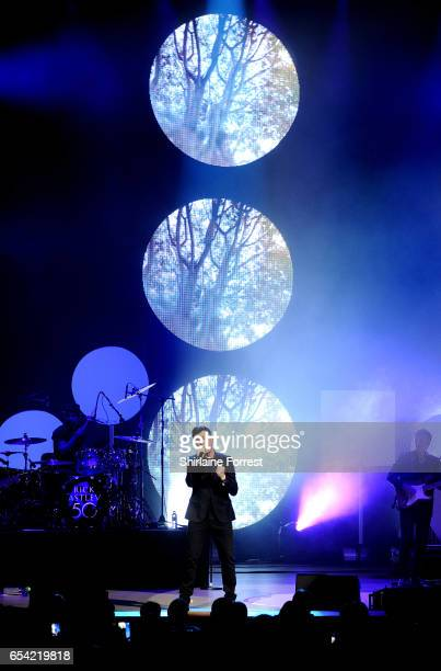Rick Astley performs at The Bridgewater Hall on March 16 2017 in Manchester United Kingdom