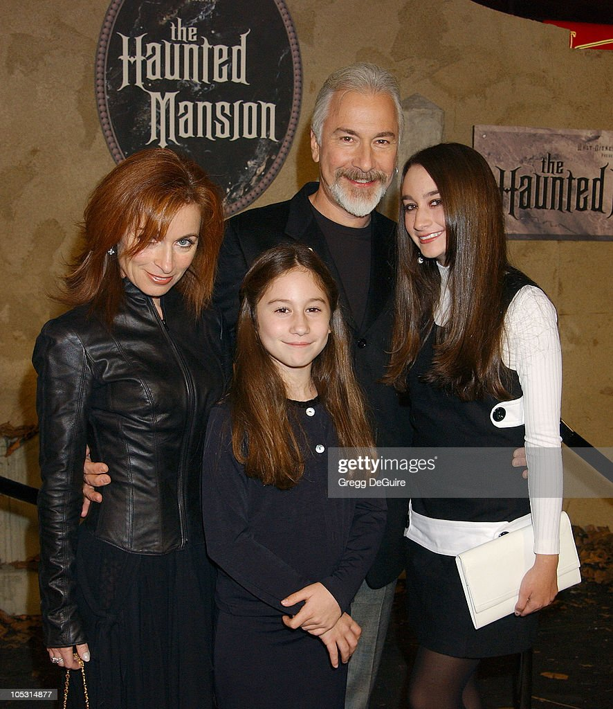 <a gi-track='captionPersonalityLinkClicked' href=/galleries/search?phrase=Rick+Baker&family=editorial&specificpeople=540260 ng-click='$event.stopPropagation()'>Rick Baker</a> and family during 'The Haunted Mansion' World Premiere at El Capitan Theatre in Hollywood, California, United States.