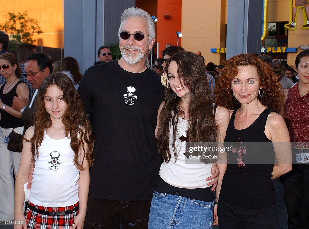 <a gi-track='captionPersonalityLinkClicked' href=/galleries/search?phrase=Rick+Baker&family=editorial&specificpeople=540260 ng-click='$event.stopPropagation()'>Rick Baker</a> and family during 'Van Helsing' Los Angeles Premiere - Arrivals at Universal Amphitheatre in Universal City, California, United States.
