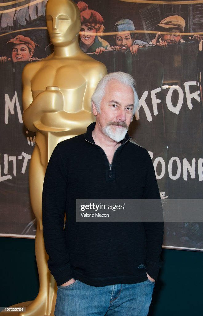 <a gi-track='captionPersonalityLinkClicked' href=/galleries/search?phrase=Rick+Baker&family=editorial&specificpeople=540260 ng-click='$event.stopPropagation()'>Rick Baker</a> attends The Academy Of Motion Picture Arts And Sciences' VFX Convergence: Blending Makeup With Digital Arts In Film at Linwood Dunn Theater at the Pickford Center for Motion Study on April 22, 2013 in Hollywood, California.
