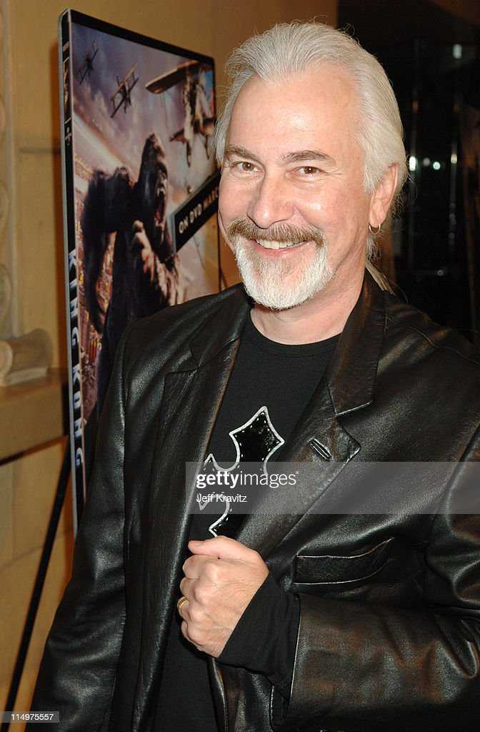 <a gi-track='captionPersonalityLinkClicked' href=/galleries/search?phrase=Rick+Baker&family=editorial&specificpeople=540260 ng-click='$event.stopPropagation()'>Rick Baker</a>, make-up artist Coinciding with the March 28, 2006 DVD release of 'King Kong', Universal Studios Home Entertainment and Fangoria Entertainment saluted the cinematic icon with a theatrical screening of the bonus feature 'Skull Island.' Also premiering was 'The Sci-Fi Boys' documentary.