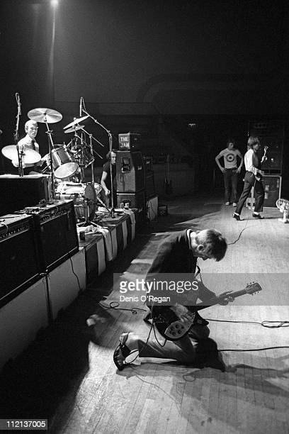 Rick Buckler and Paul Weller of The Jam live at the Portsmouth Guildhall March 1979
