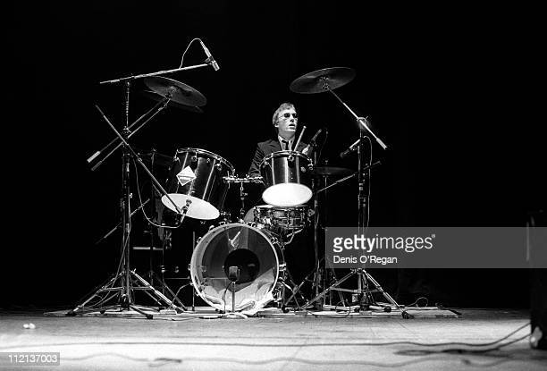 Rick Buckler of The Jam live at the Rainbow Theatre March 1977