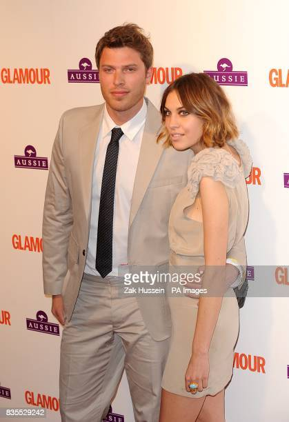 Rick Edwards and Alexa Chung arriving at the Glamour Woman of the Year Awards 2009 at Berkeley Square Gardens W1