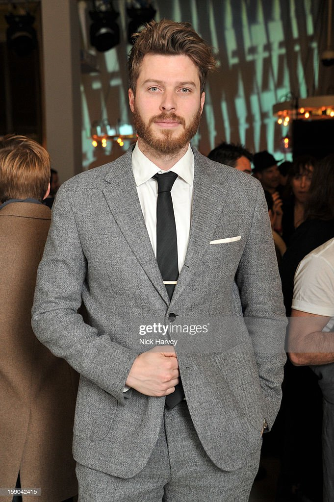 Rick Edwards attends the launch of 1205 Paula Gerbase Hosted By Harvey Nichols ahead of the London Collections: MEN AW13 at on January 6, 2013 in London, England.