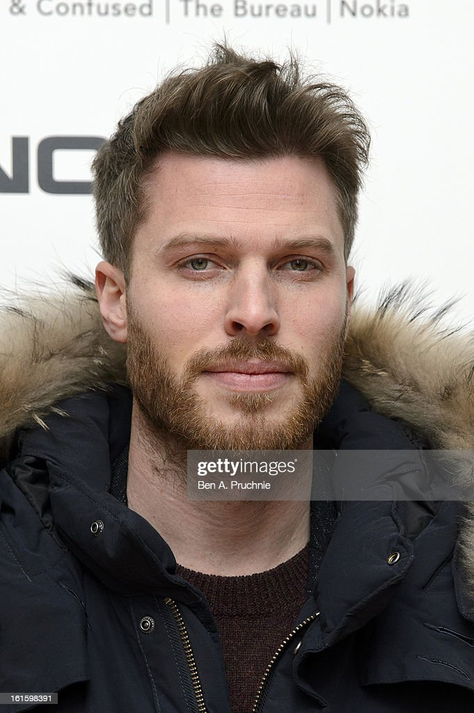 Rick Edwards attends the premiere of Rankin's Collabor8te connected by NOKIA at Regent Street Cinema on February 12, 2013 in London, England.