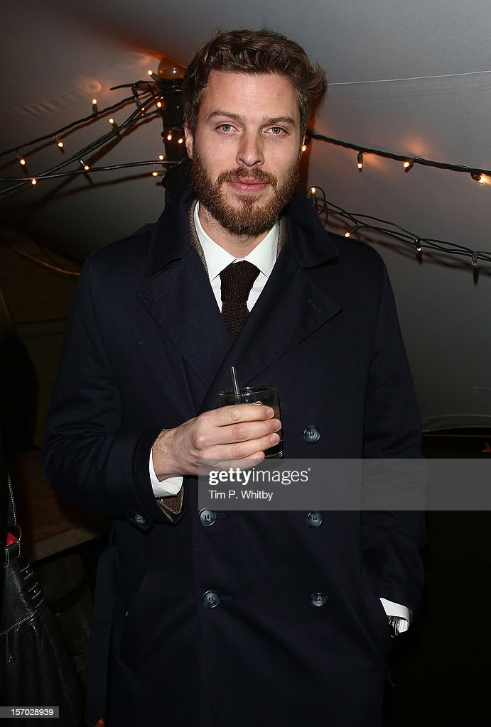 Rick Edwards enjoys a Jameson cocktail at the Jameson Cult Film Club premiere of Seven Psychopaths at Oval Space on November 27, 2012 in London, England. Jameson Cult Film Club hosts immersive screenings of cult classics and new release 'Future Cult' films across the UK>>