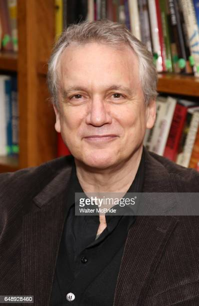 Rick Elice attends the Dramatists Guild Fund Salon With Rick Elice at the Cornell Club on March 6 2017 in New York City