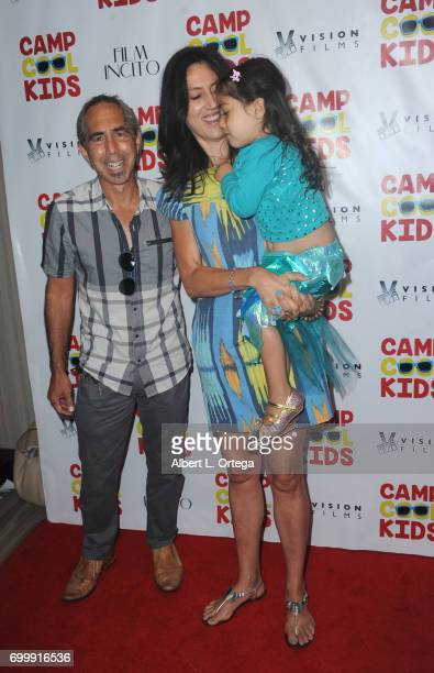 Rick Foster and family arrive for the Premiere Of Vision Films' 'Camp Cool Kids' held at AMC Universal City Walk on June 21 2017 in Universal City...