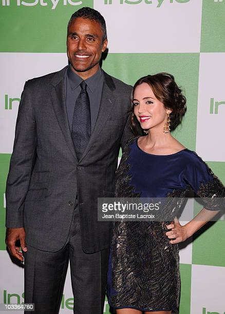 Rick Fox and Eliza Dushku arrive at the 9th Annual InStyle Summer Soiree on August 12 2010 in Los Angeles California