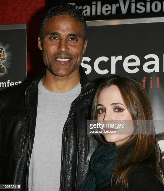 Rick Fox and Eliza Dushku arrive for the 10th Annual Screamfest LA World Premiere Of 'Hysteria' at Grauman's Chinese Theatre on October 15 2010 in...