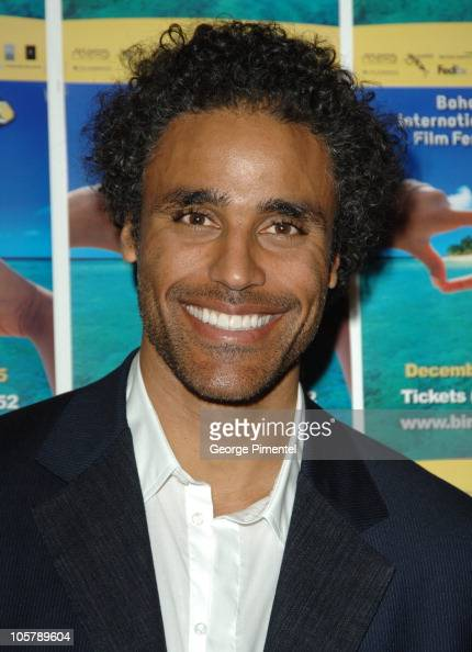 Rick Fox during 2005 Bahamas...
