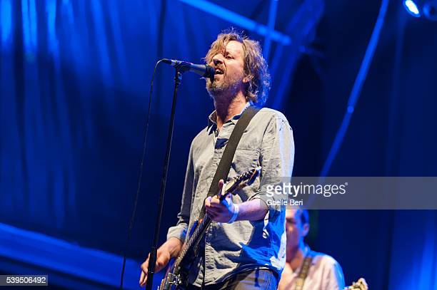 Rick Froberg of Drive Like Jehu performs live at NOS Primavera Sound on June 11 2016 in Porto Portugal