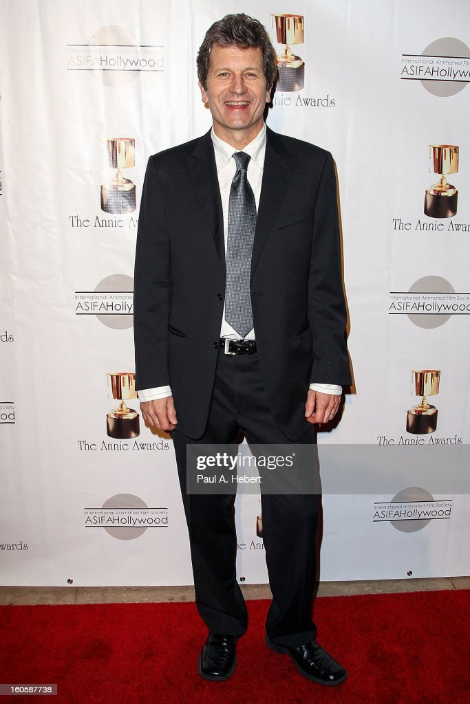 Rick Heinrichs arrives at the 40th Annual Annie Awards held at Royce Hall on the UCLA Campus on February 2, 2013 in Westwood, California.
