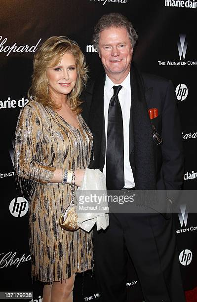 Rick Hilton and Kathy Hilton arrive at the Weinstein Company's 2012 Golden Globe afterparty held at Bar 210 at The Beverly Hilton hotel on January 15...