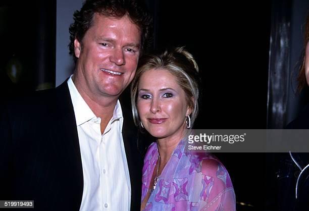 Rick Hilton and Kathy Hilton at Hugo Boss store opening New York May 8 2001