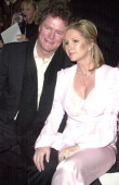 Rick Hilton and Kathy Hilton during Mercedes Benz Fashion Week Fall 2003 Collections Luca Luca Front Row at Bryant Park in New York City New York...