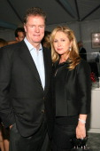 Rick Hilton and Kathy Hilton during The Los Angeles Antique Show Opening Night Preview Party to Benefit Charity Partner PS ARTS at Barker Hangar in...