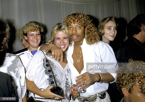 Rick James during 1985 MTV Video Music Awards at Radio City Music Hall in New York City New York United States