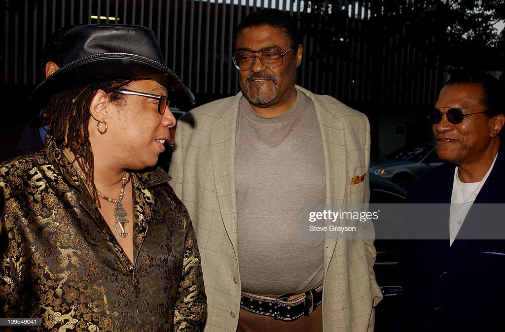 Rick James Rosey Grier Billy Dee Williams during The Los Angeles Premiere of 'Jim Brown All American' at Writers Guild of America Theater in Beverly...
