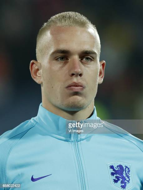 Rick Karsdorp of Hollandduring the FIFA World Cup 2018 qualifying match between Bulgaria and Netherlands on March 25 2017 at Vasil Levski National...
