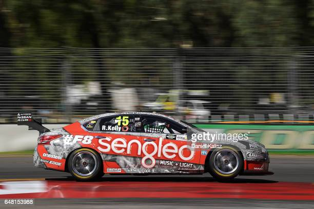 Rick Kelly drives the Sengled Racing Nissan Altima during qualifying for race 2 of the Clipsal 500 which is part of the Supercars Championship at...