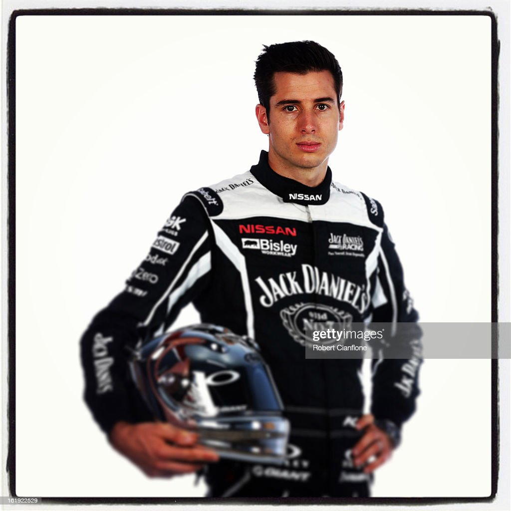 <a gi-track='captionPersonalityLinkClicked' href=/galleries/search?phrase=Rick+Kelly+-+Race+Car+Driver&family=editorial&specificpeople=221331 ng-click='$event.stopPropagation()'>Rick Kelly</a> of Jack Daniels Racing poses during a V8 Supercars driver portrait session at Eastern Creek on February 15, 2013 in Sydney, Australia.