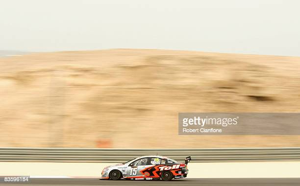 Rick Kelly of the HSV Dealer Team drives his Holden during qualifying for the Desert 400 which is round 12 of the V8 Supercars Championship Series at...